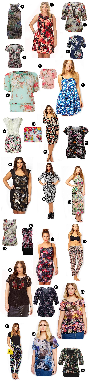Große Größen Plus Size Fashion Blog trend guide floral