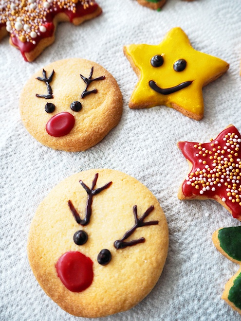 Weihnachtsplätzchen - świąteczne ciasteczka