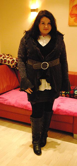 Sweter ujarzmiony :)