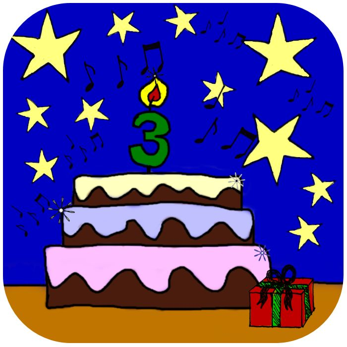 My blogs birthday :)