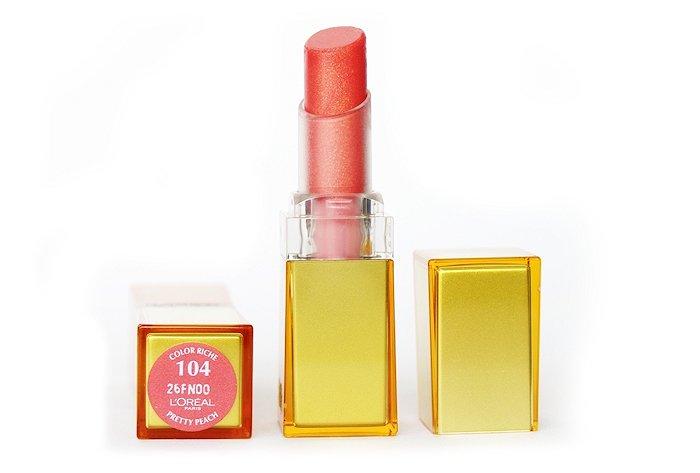 loreal color riche pretty peach