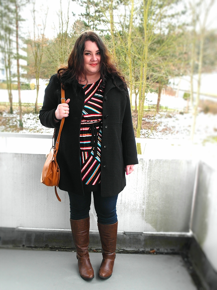 Stripes in the snow