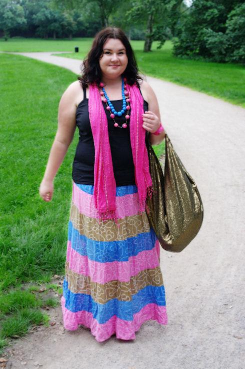 Bollywood skirt