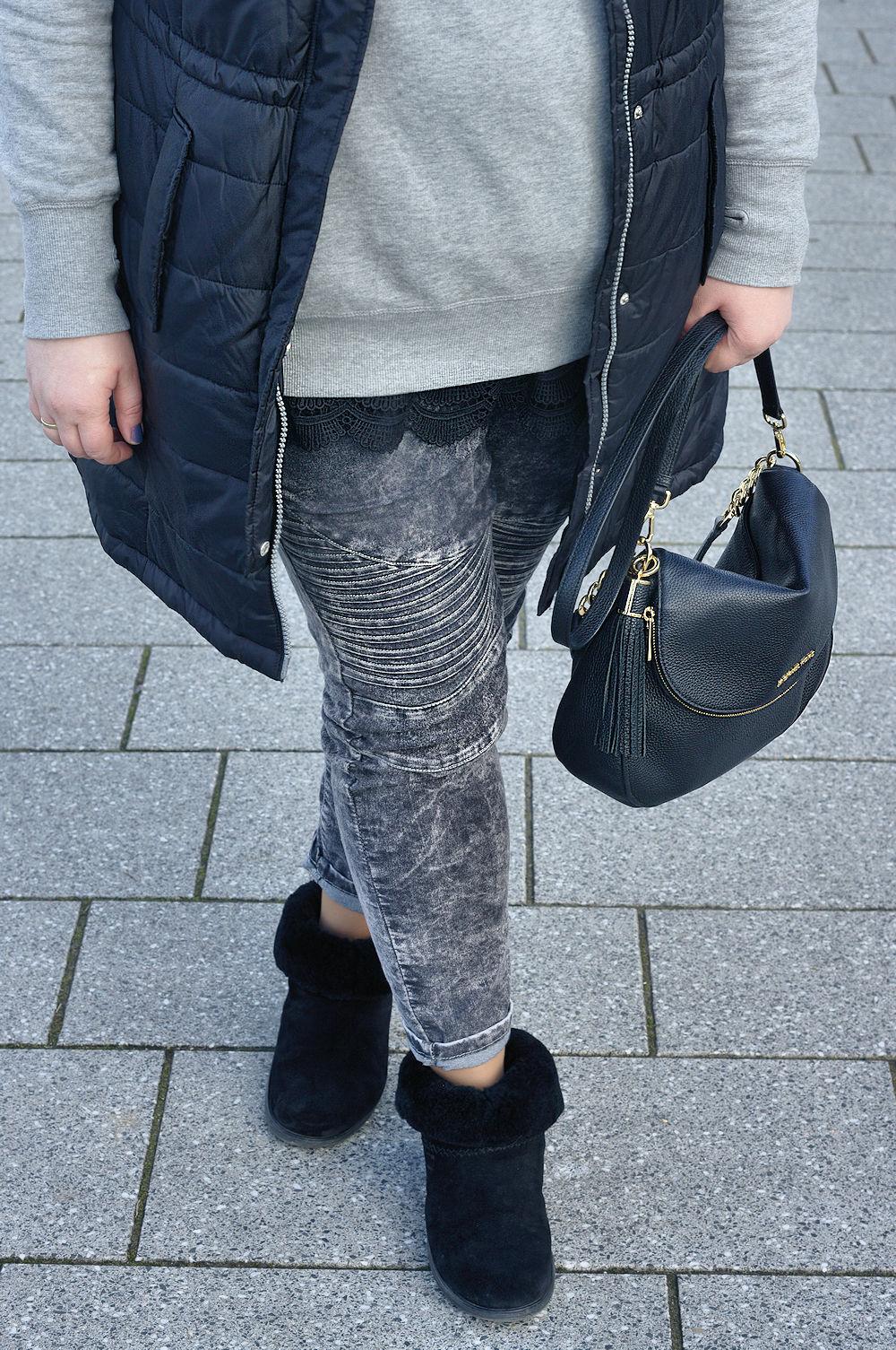 Große Größen Plus Size Fashion Blog FitFlop mukluk shorty 2