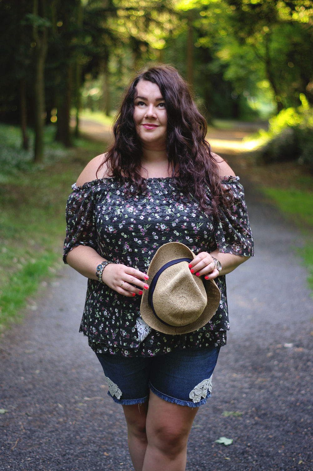 Große Größen Plus Size Fashion Blog Plus size off-shoulder