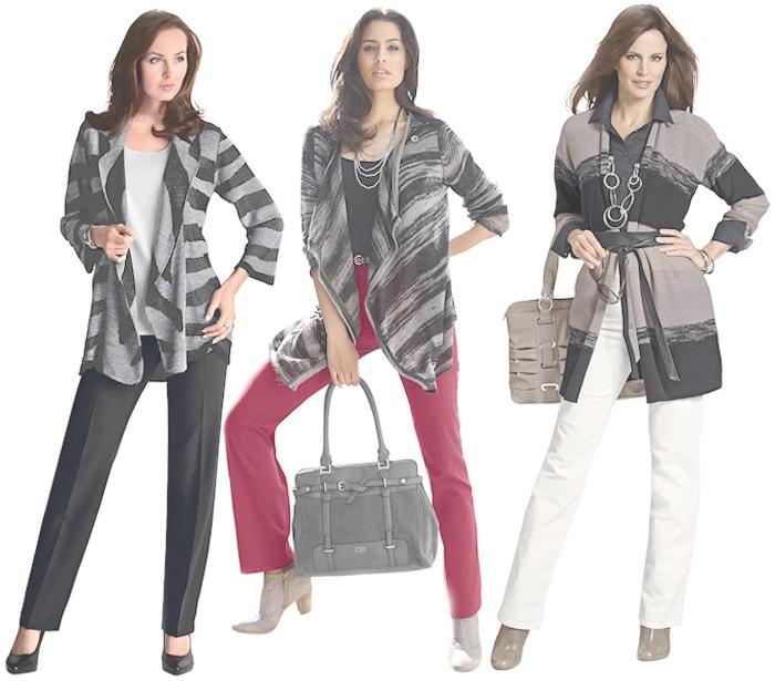 Große Größen Plus Size Fashion Blog figurtyp strickjacke rechteck