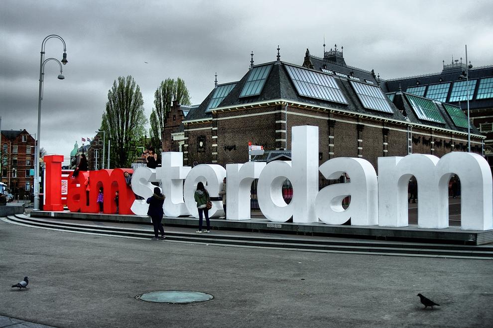 Amsterdam in April