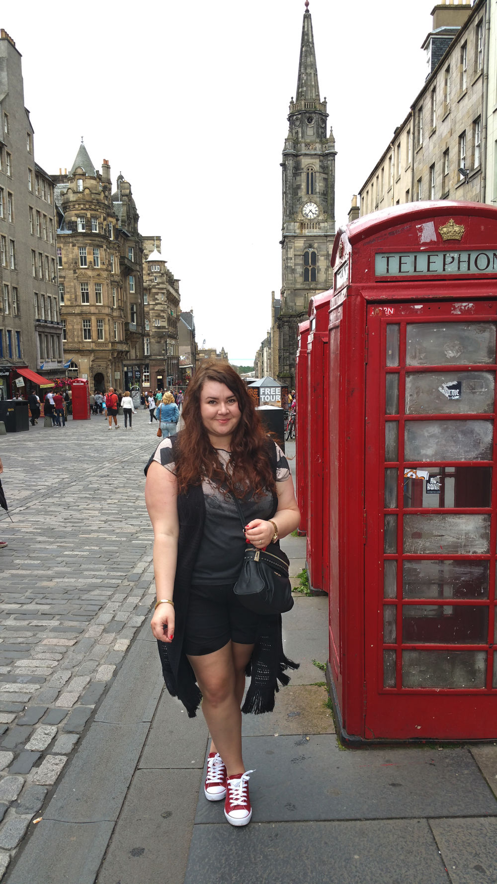 Edinburgh plus size outfit blog