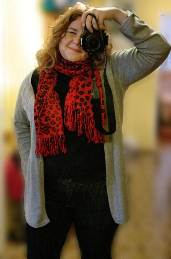 Gdy inny blog inspiruje... czyli czerwona pantera jak u D&G