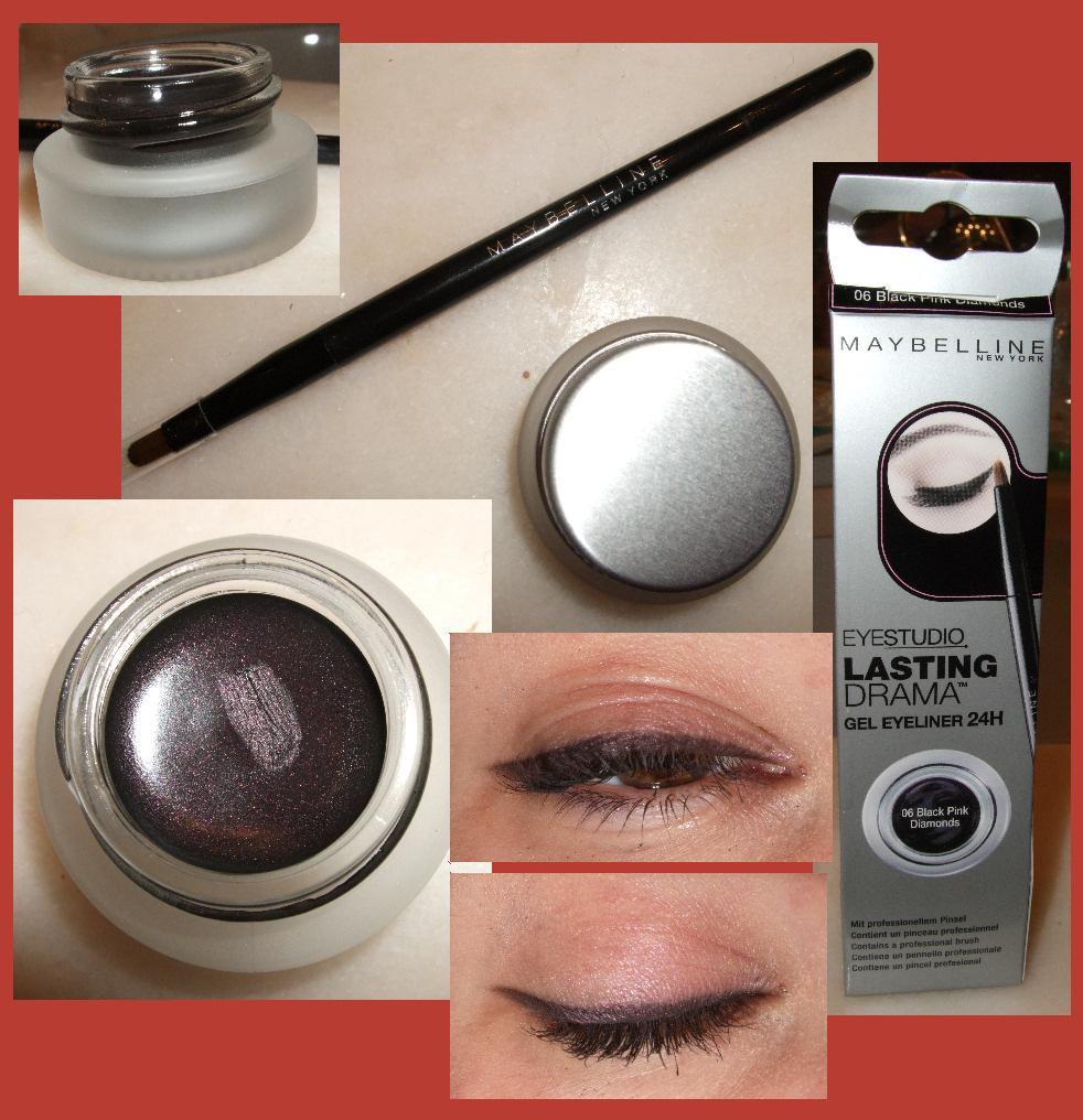 Recenzja - maybelline lasting drama gel eyeliner 24h