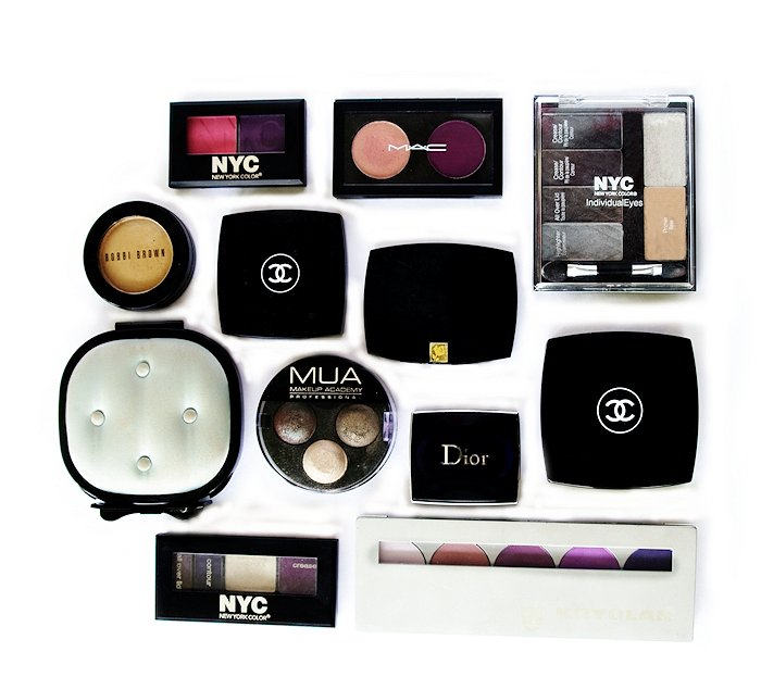 eyeshadow chanel mua mac lancome dior nyc kryolan bobbi brown