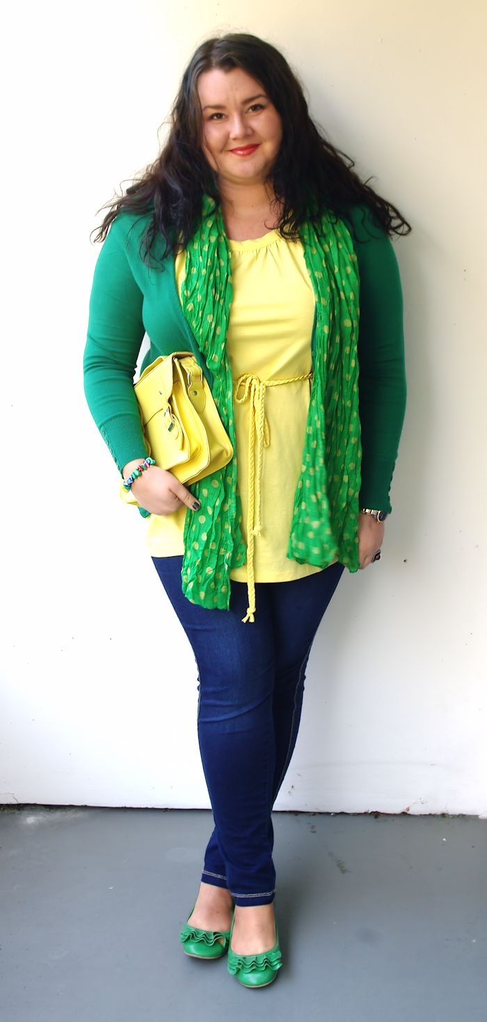 Green + Yellow