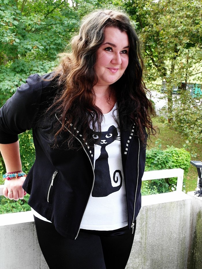 Plus Size Fashion Blog DIY shirt