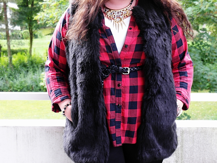 Tartan and fur