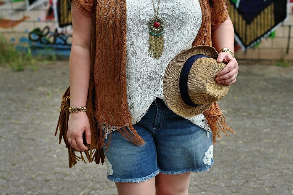 Festival plus size outfit
