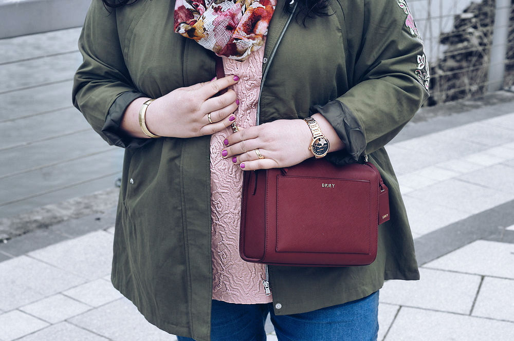 The perfect khaki plus size parka