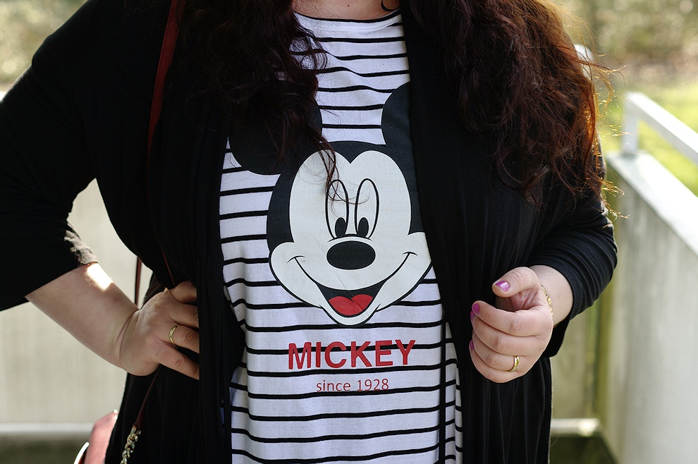 A plus size Mickey Mouse shirt