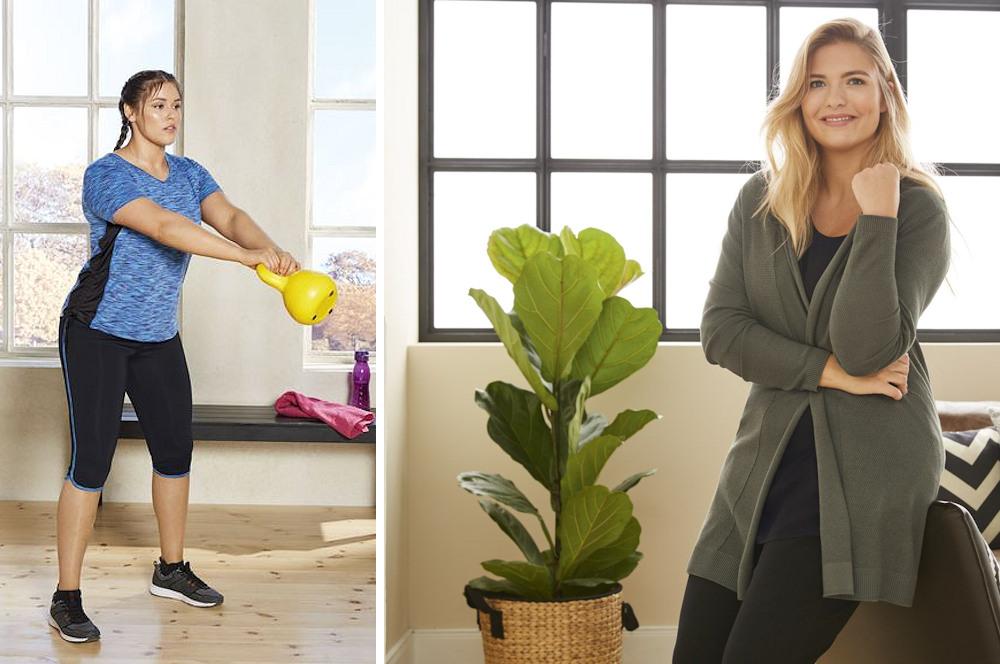Große Größen Plus Size Fashion Blog Lidl sport fitness