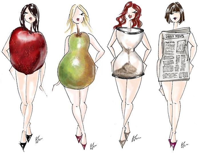 Cardigan vs. body shape
